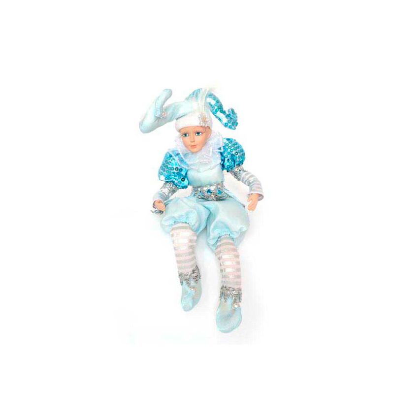 {}  Фигурка Шут Цвет: Голубой (35 см) фигурка декоративная ракушка цвет голубой высота 9 см 36767