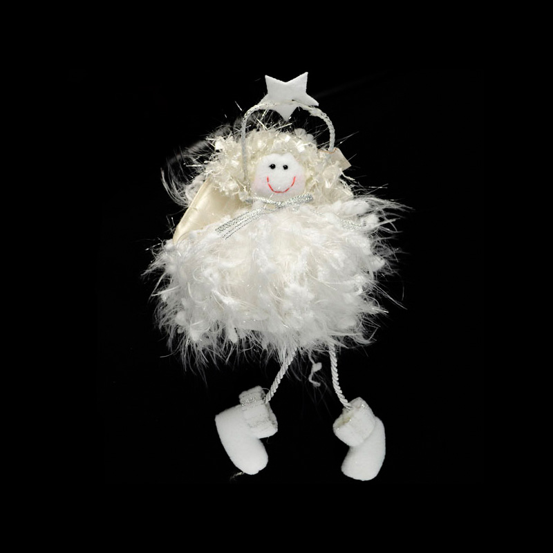 {}  Фигурка Ангел (21 см) сказки дерева подвеска ангел на луне
