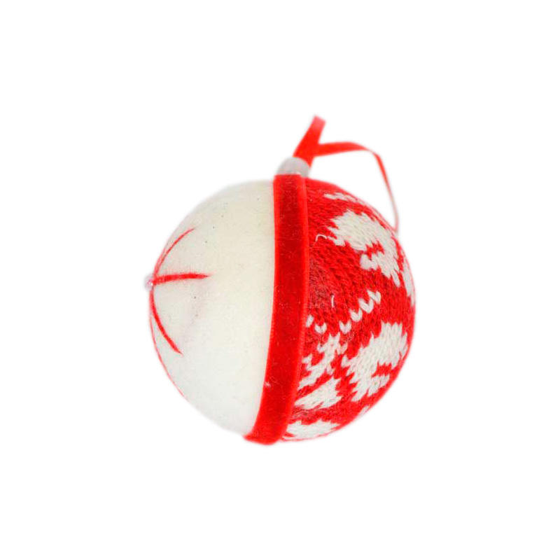 {}  Шар Энерджи Цвет: Красный, Белый (6 см) шар цифровая фоторамка цвет красный 6 см