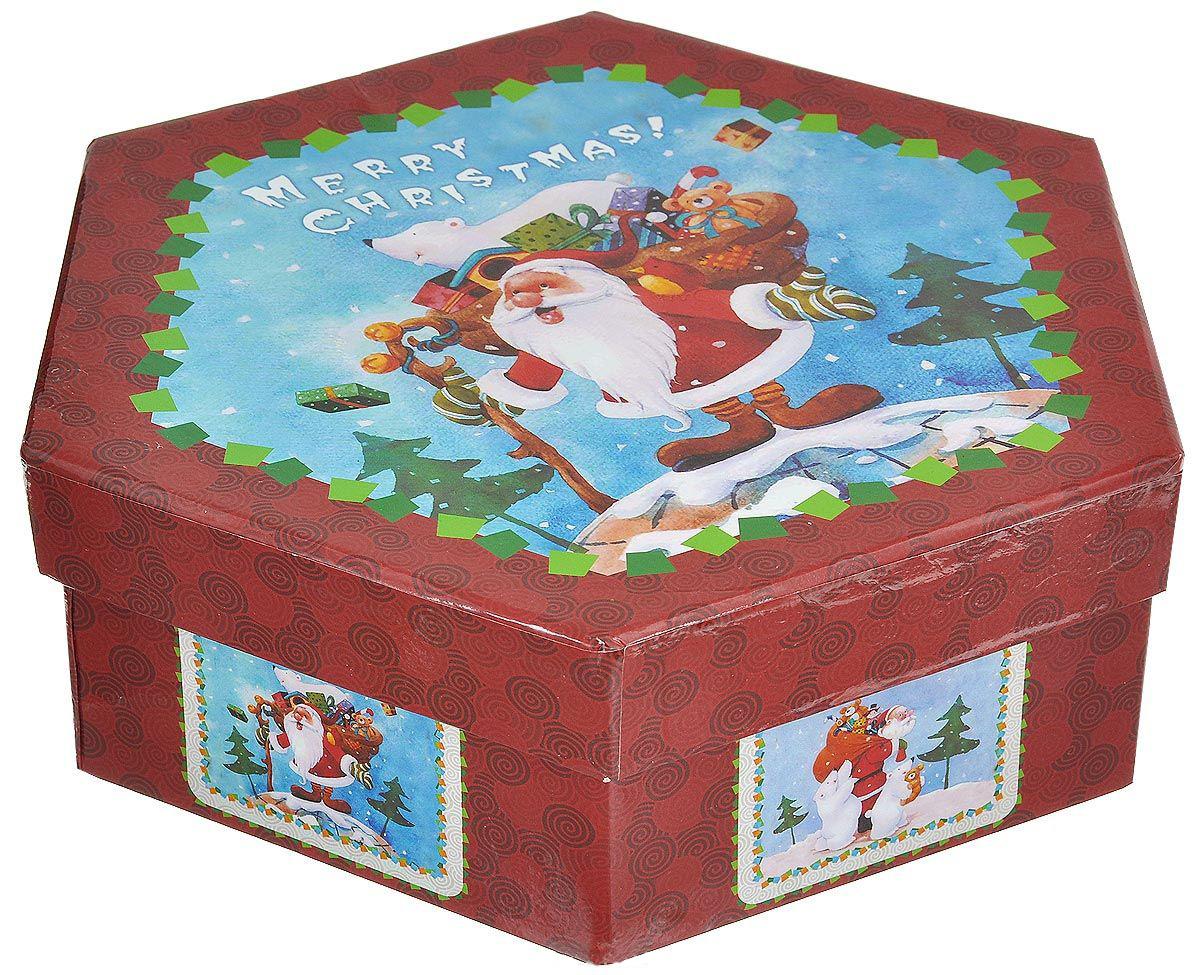 {}  Набор шаров Дед Мороз с Подарками Цвет: Фрости (7 см - 7 шт) набор шаров 60мм 9шт пластик в тубе золото