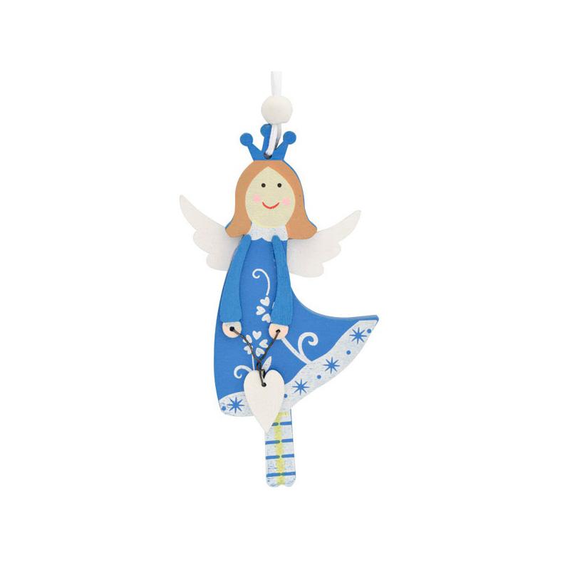 {}  Подвеска декоративная Ангел (12 см) сказки дерева подвеска ангел на луне