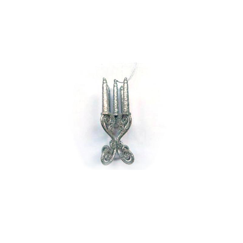 {}  Подвеска декоративная Канделябр (3х3х13 см) декоративная фигурка мишка именинник высота 13 см 29373