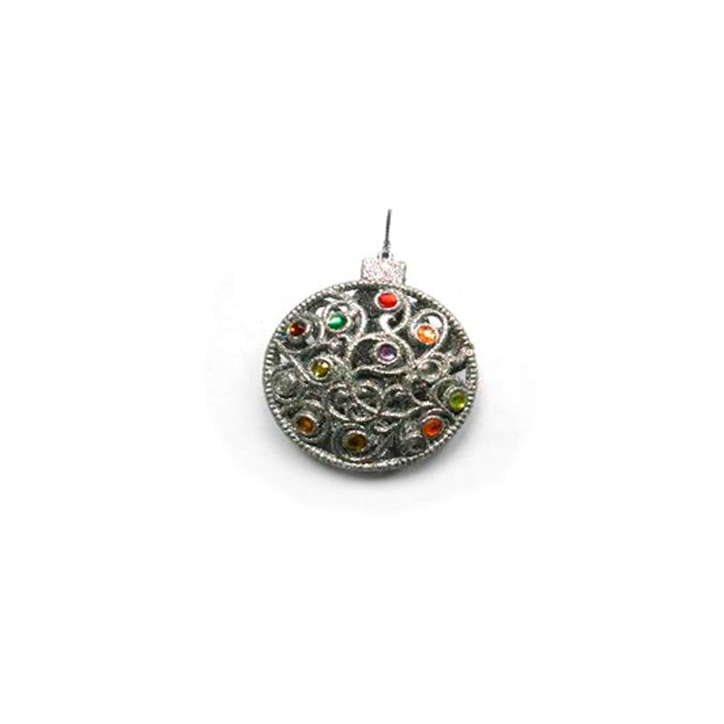{}  Подвеска декоративная Морозный Узор и Самоцветы (10 см) авторский комплект самоцветы сентябрина