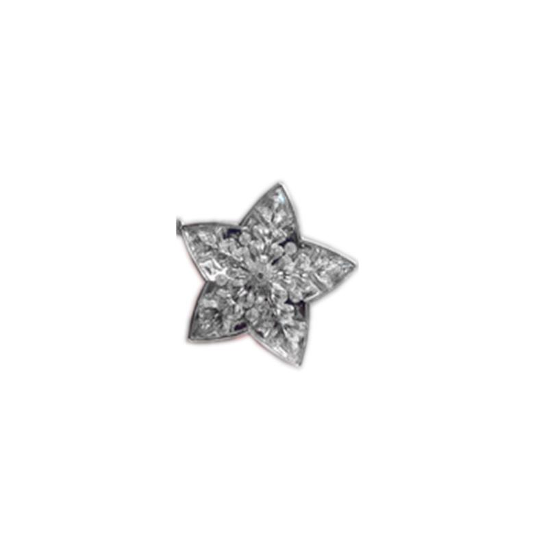 {} Подвеска декоративная Снежинка (10 см) подвеска декоративная снежинка ажурная пвх 61 см
