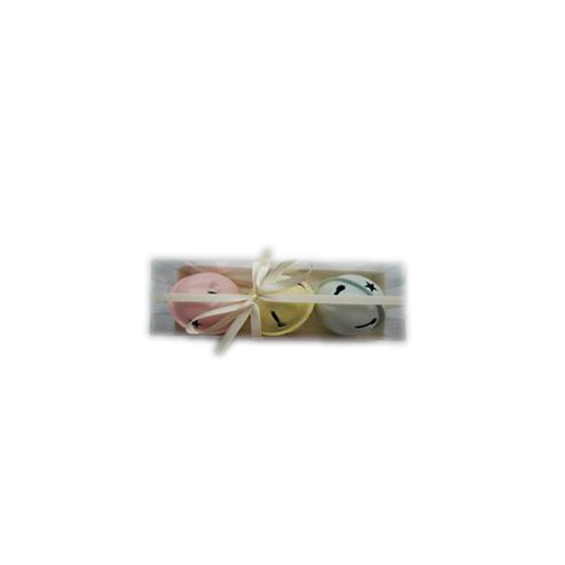 {}  Набор подвесок Бубенчики (7 см - 3 шт) бубенчики декоративные купить в москве