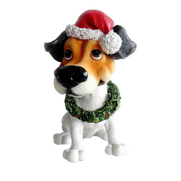 {} Monte Christmas Фигурка Тузик (9x14x16 см) monte christmas фигурка музыкальная monte christmas n9750006 мульти