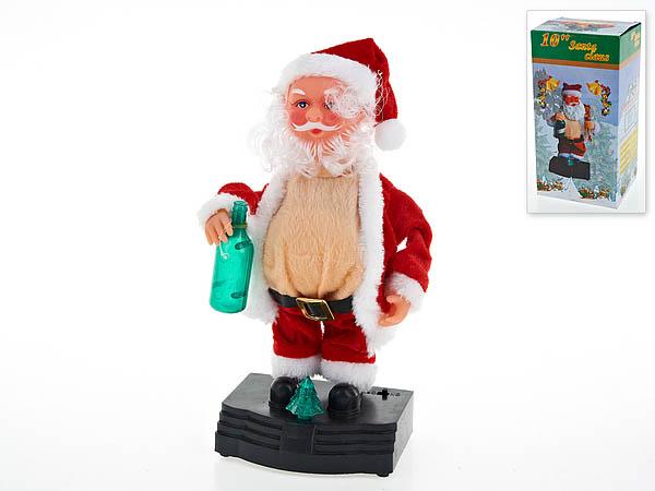 {} Monte Christmas Фигурка Санта (25 см) monte christmas фигурка музыкальная monte christmas n9750006 мульти