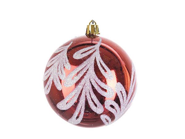{} Monte Christmas Сувенир Зимнее Узор (8 см - 6 шт)