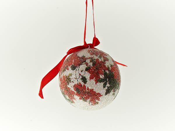 {} Monte Christmas Сувенир Новогодний Цветок (7 см - 4 шт)