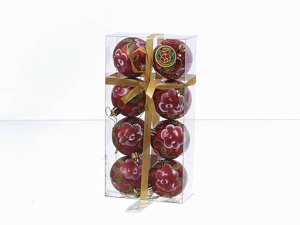 {} Monte Christmas Сувенир Волна (8 см - 6 шт)