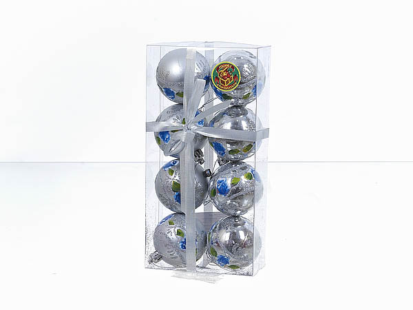 {} Monte Christmas Сувенир Голубая Роза (6 см - 8 шт)