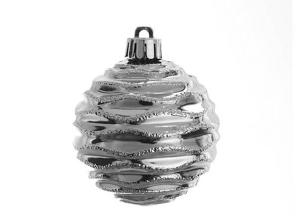 {} Monte Christmas Сувенир Льдинка (6 см - 4 шт) набор шаров 6 см monte christmas набор шаров 6 см