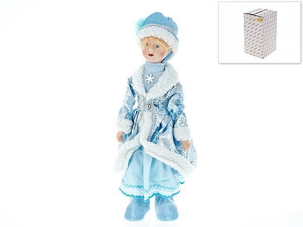 {} Euphorie Кукла Снегурочка (10х15х42 см) фигурка декоративная euphorie мухомор 32 5 16 см