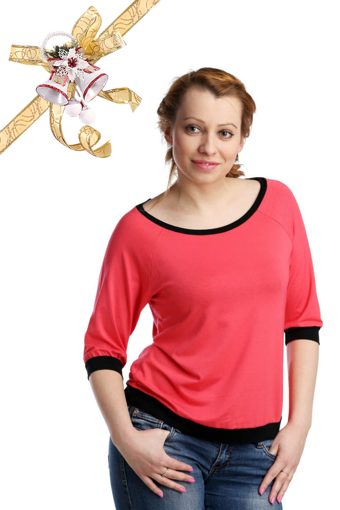 Футболки ElenaTex Блузка Life Цвет: Коралл (L) россия блузка dg 28 bra