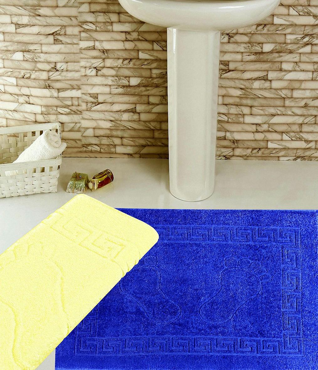 Аксессуары для ванной и туалета Elegante Коврик для ванной Ножки Цвет: Синий (50х70 см) коврик для ванной 50x50 loks цвет синий