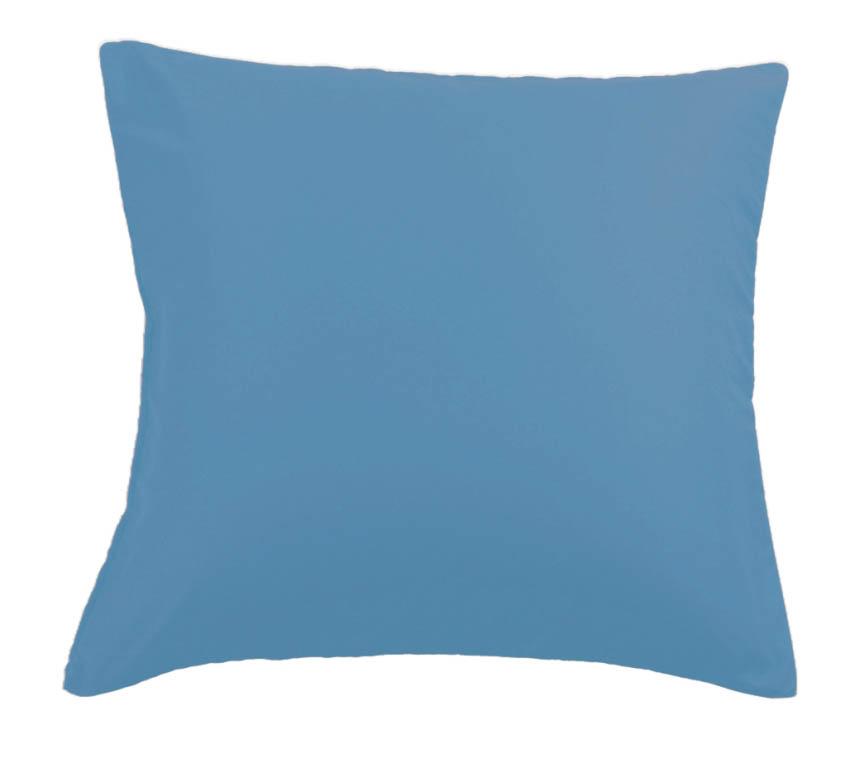 Наволочки Valtery Наволочка Noele Цвет: Темно-Голубой (50х70 (2 шт))