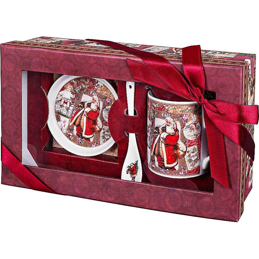{}  Чайный набор Christmas Time набор чайный серия весенняя балет щелкунчик 3 пред фарфор