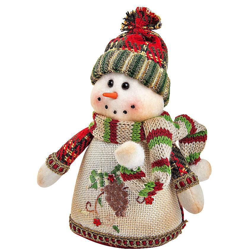 {}  Мягкая игрушка Снеговик (17 см) мягкая игрушка арти м 29 см снеговик 861 002