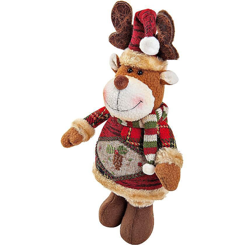 {}  Мягкая игрушка Олень (28 см) мягкая игрушка plush apple собака с шарфом 28 см