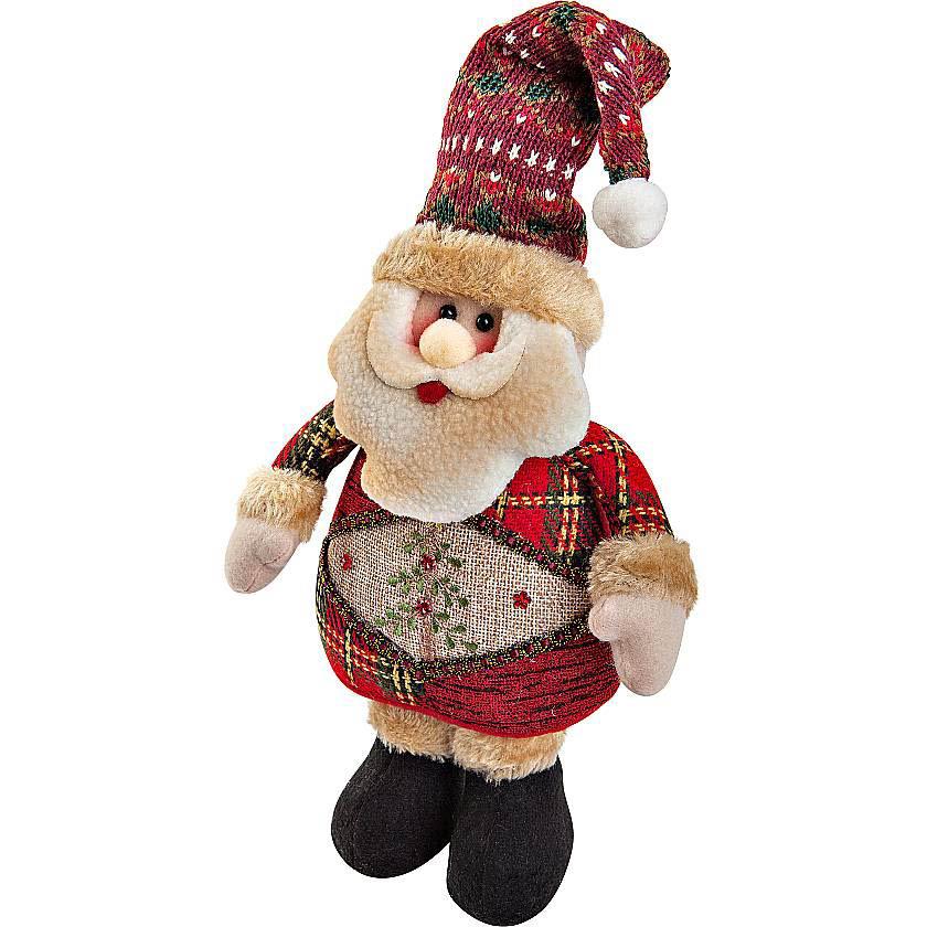 {} Мягкая игрушка Дед Мороз (28 см) малышарики мягкая игрушка собака бультерьер 28 см