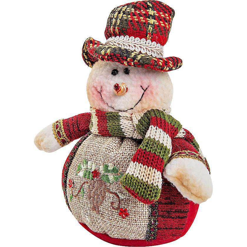 {}  Мягкая игрушка Снеговик (12 см) мягкая игрушка арти м 29 см снеговик 861 002