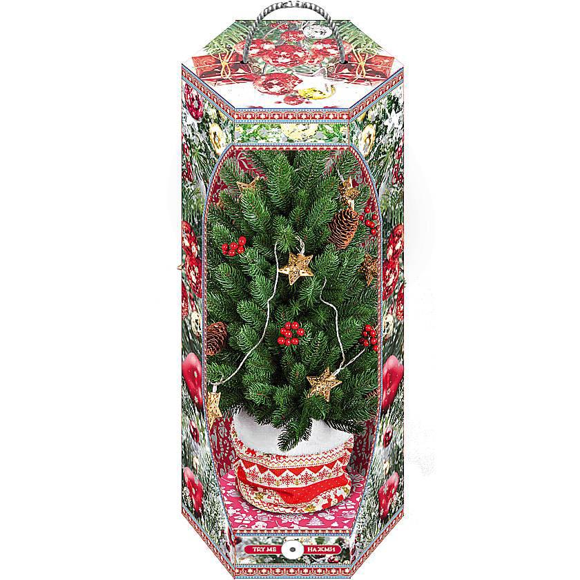 {} Елка с декором Christmas Time (60 см) искусственная елка christmas market анна стар 228 см с гирляндой cm16 475