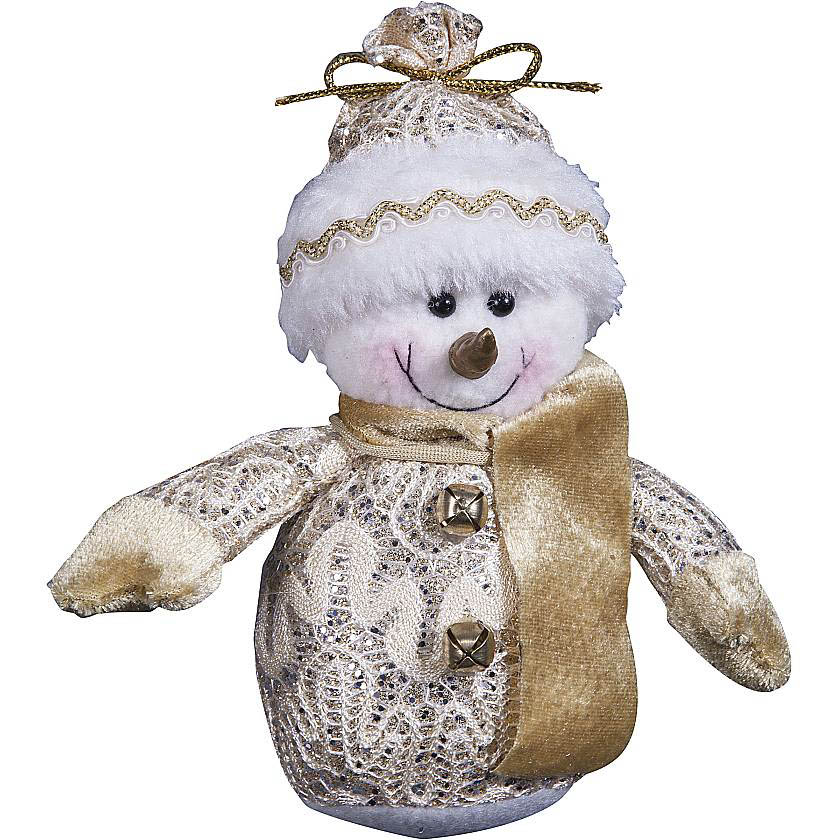 {}  Мягкая игрушка Снеговик (12 см) мягкая игрушка медвеженок тэди