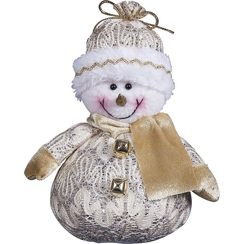 {} Мягкая игрушка Снеговик (18 см) anna club plush мягкая игрушка бассет хаунд 18 см