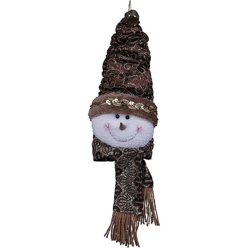 {} Мягкая игрушка Снеговик (25 см) малышарики мягкая игрушка пандочка 25 см
