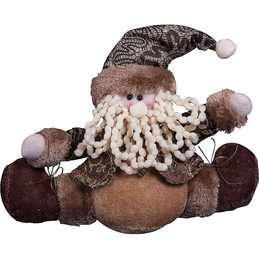 {} Мягкая игрушка Дед Мороз (15 см) малышарики мягкая игрушка собака бассет хаунд 23 см