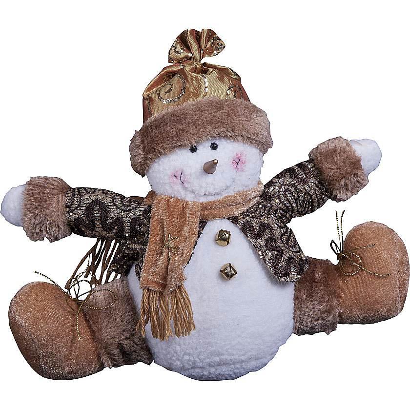 {}  Мягкая игрушка Снеговик (15 см) orange 7654 15 мягкая игрушка щенок рекс 15 см