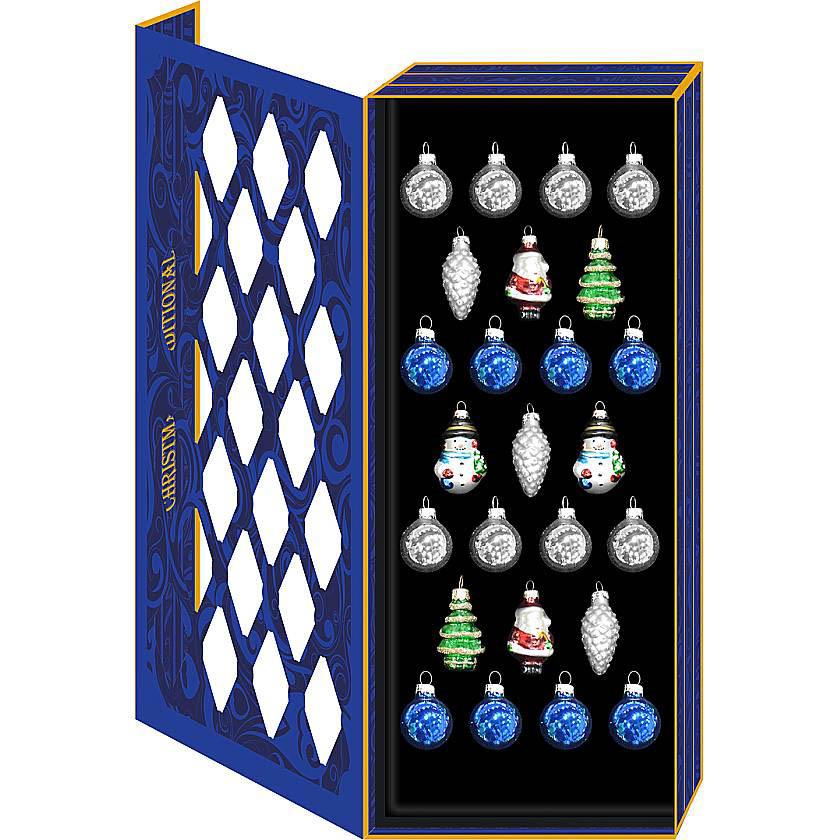 {}  Набор украшений Christmas Time набор для росписи елочных украшений досуг с буки вв1042