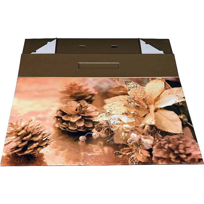 {} Складная коробка New Year (41х27х9 см) new original fotek a3g 4mx mr 1 warranty for two year