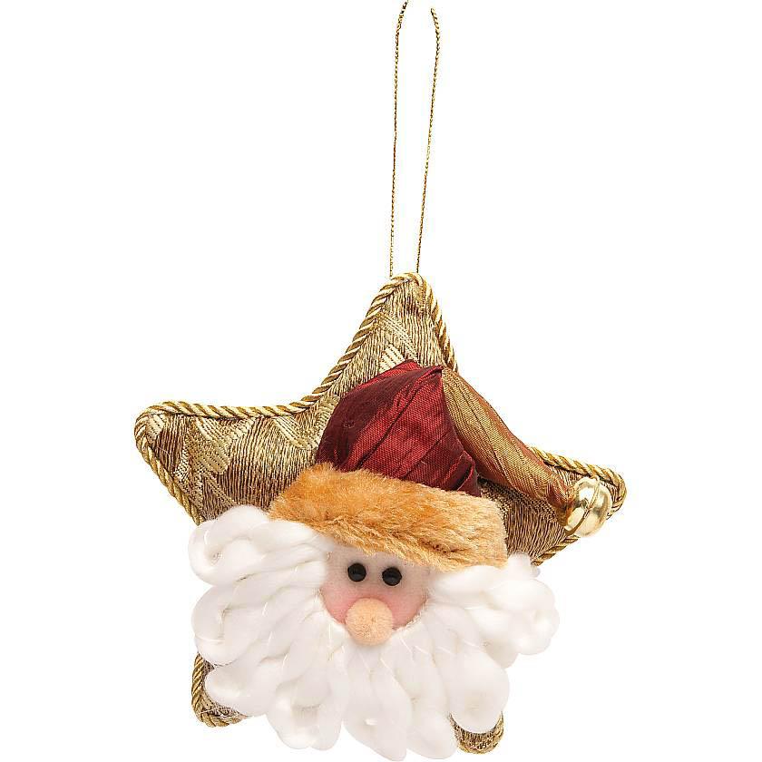 {} Мягкая игрушка Дед Мороз (14 см) малышарики мягкая игрушка собака бассет хаунд 23 см