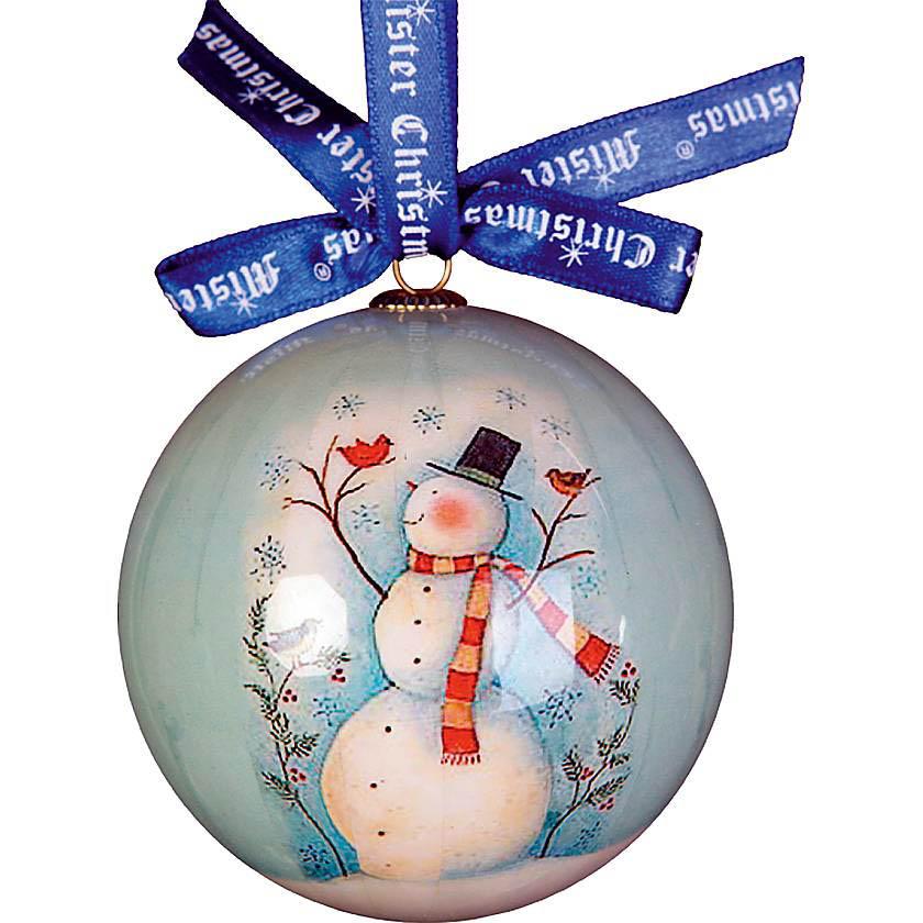 {} Набор шаров Снеговики (7 см - 6 шт) набор шаров 6 см monte christmas набор шаров 6 см