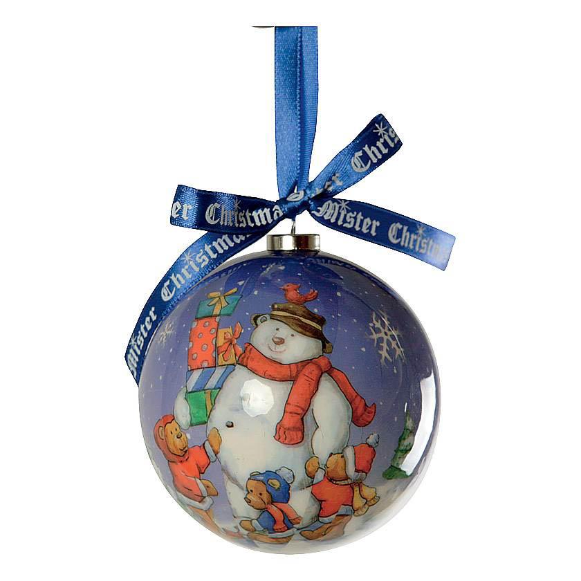 {} Набор шаров Медведи (7 см - 6 шт) набор шаров 6 см monte christmas набор шаров 6 см