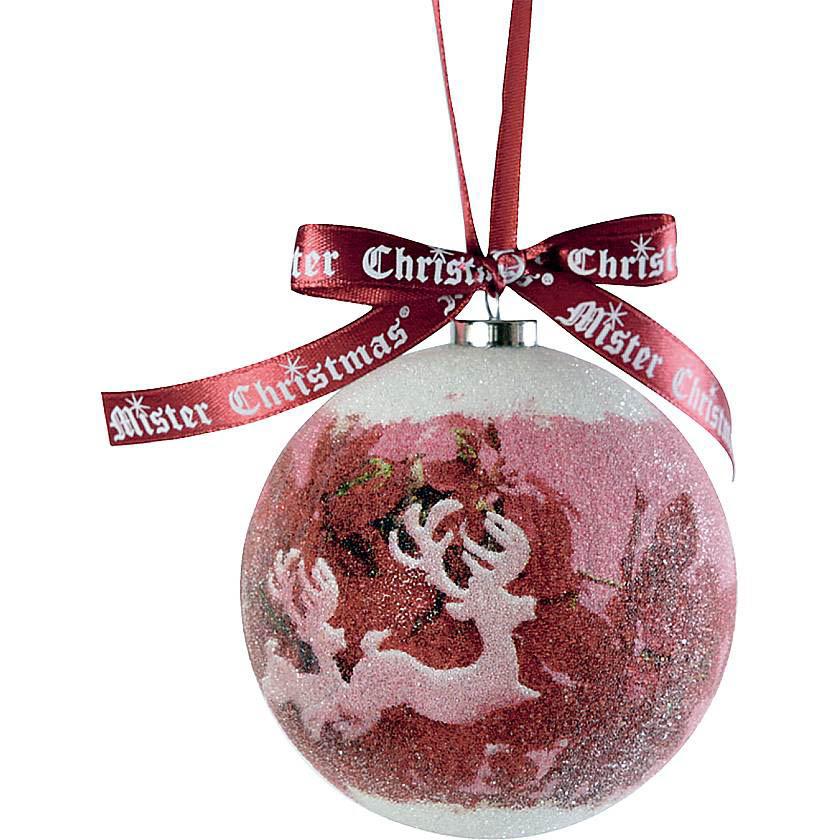{} Набор шаров Merry Christmas (7 см - 6 шт) набор шаров 6 см monte christmas набор шаров 6 см