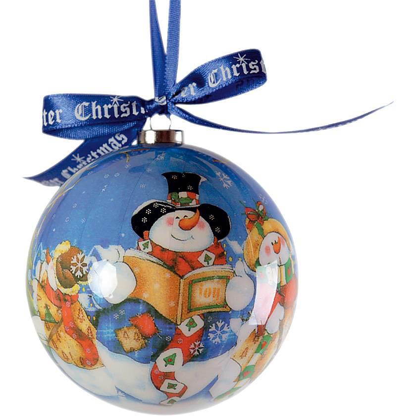 {} Набор шаров Снеговик (7 см - 6 шт) набор шаров 6 см monte christmas набор шаров 6 см