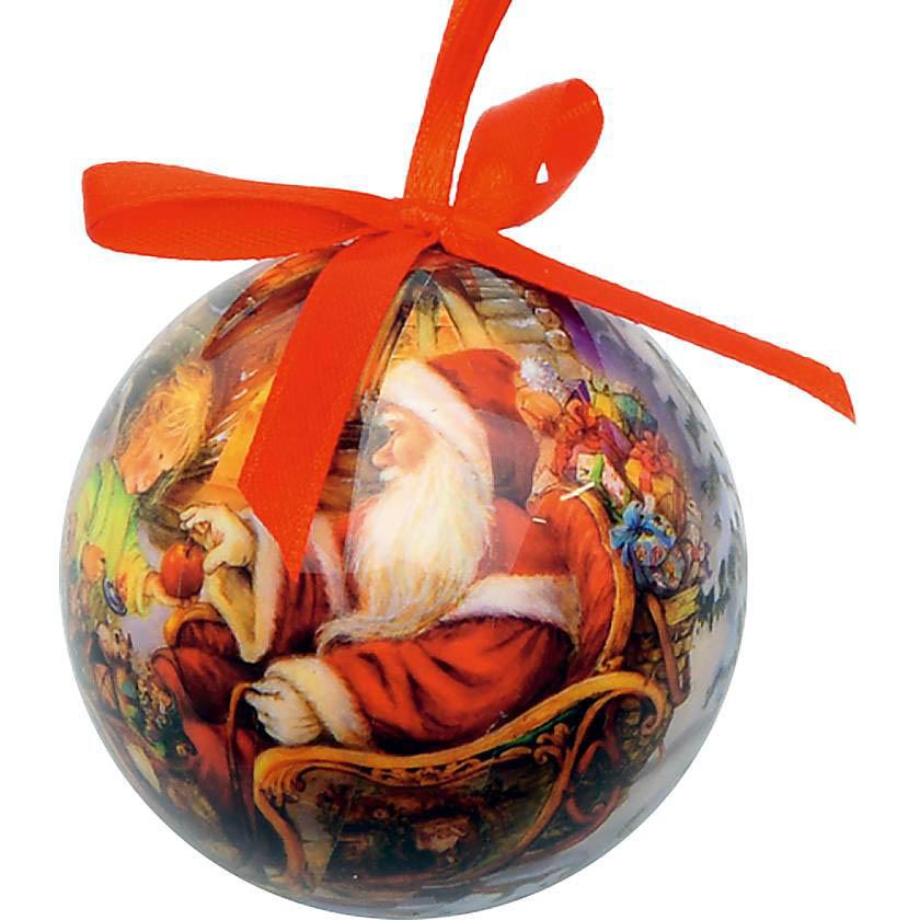 {} Набор шаров Merry Christmas (6 см - 8 шт) набор шаров 6 см monte christmas набор шаров 6 см