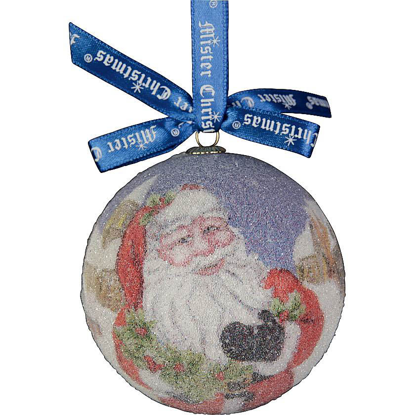 {} Набор шаров Дед Мороз (7 см - 7 шт) snowlife набор из 6 шаров елочных дед мороз диам 75 мм