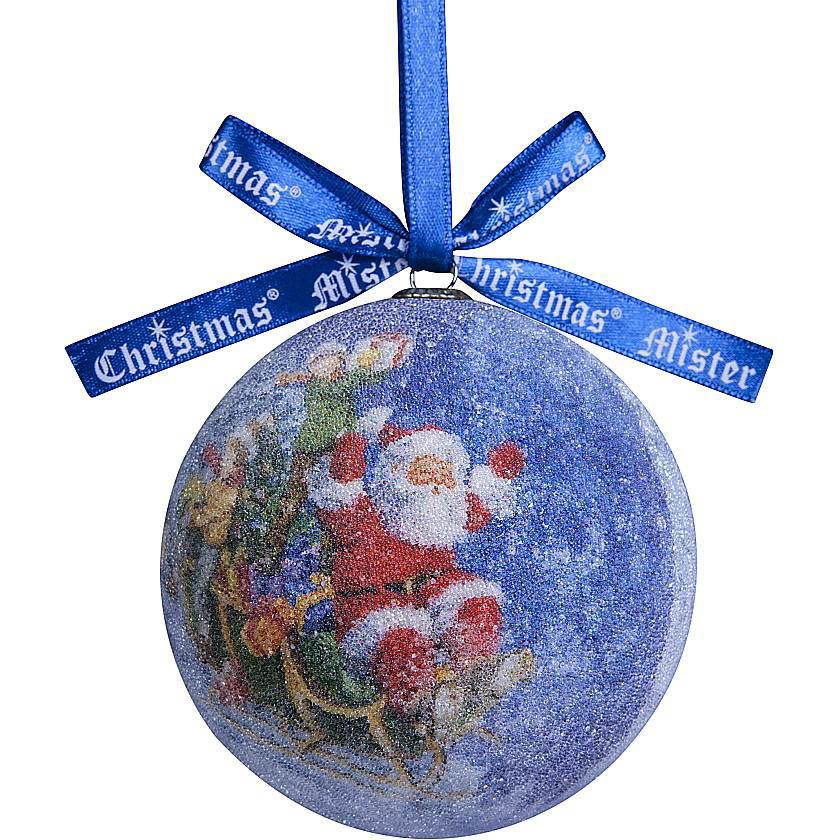 {} Набор шаров Дед Мороз (7 см - 6 шт) snowlife набор из 6 шаров елочных дед мороз диам 75 мм