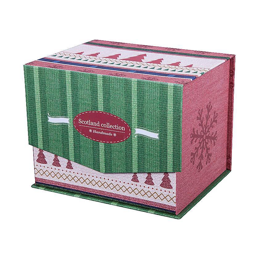 купить {}  Статуэтка Дед Мороз Цвет: Зеленый (31 см) недорого