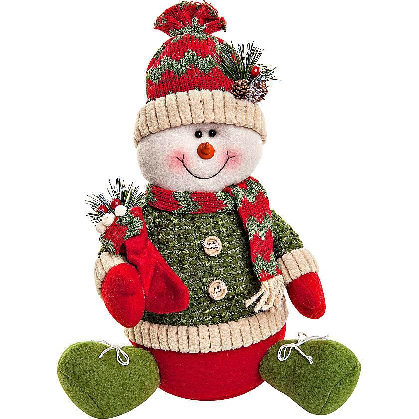 {}  Мягкая игрушка Снеговик (30 см) мягкая игрушка медвеженок тэди