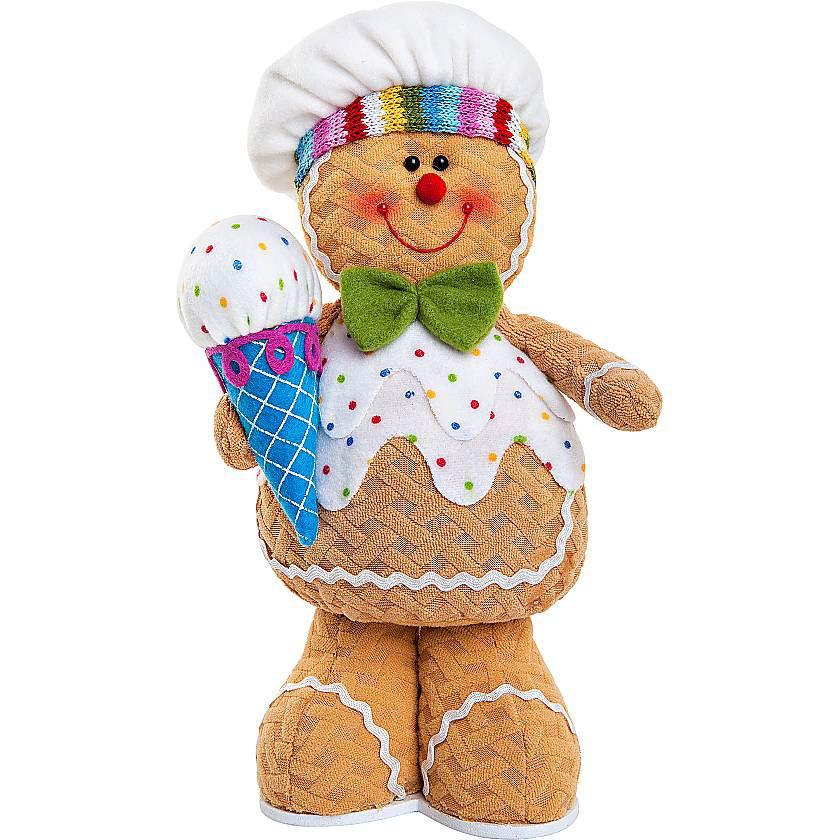 {} Мягкая игрушка Пряничный Мальчик (32 см) малышарики мягкая игрушка собака бассет хаунд 23 см