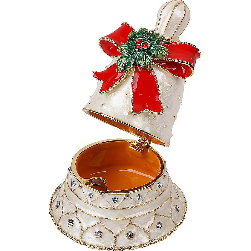 {}  Шкатулка Колокол (8 см) шкатулка декоративная свадебный торт 10 5 8 6 см металл