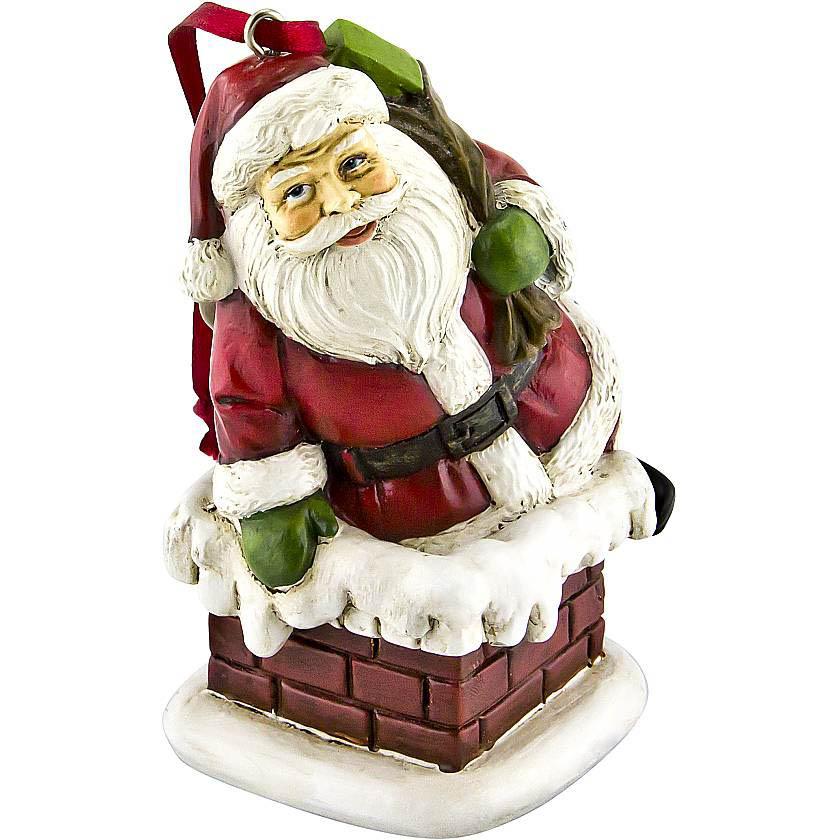 {} Набор украшений Дед Мороз (10 см - 3 шт) набор статуэток филины 3 шт h25 20 13 см