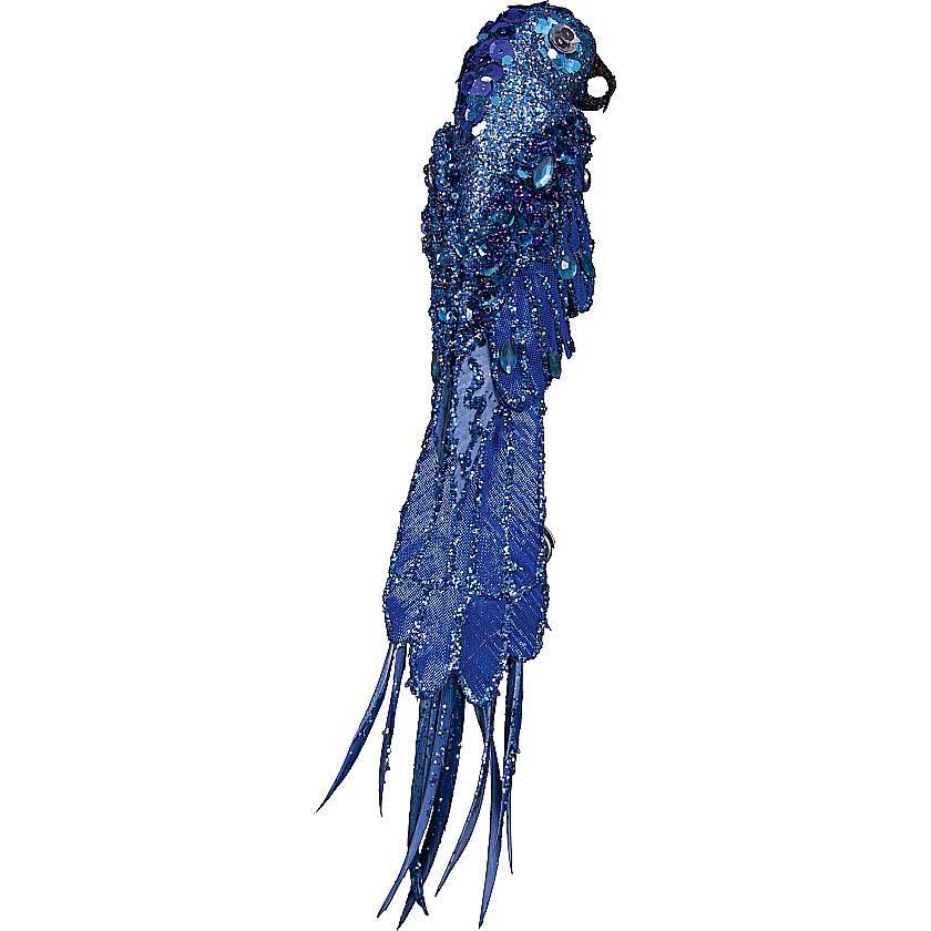 {}  Украшение Попугай Цвет: Синий (25 см) фонарь maglite 2d синий 25 см в картонной коробке 947191