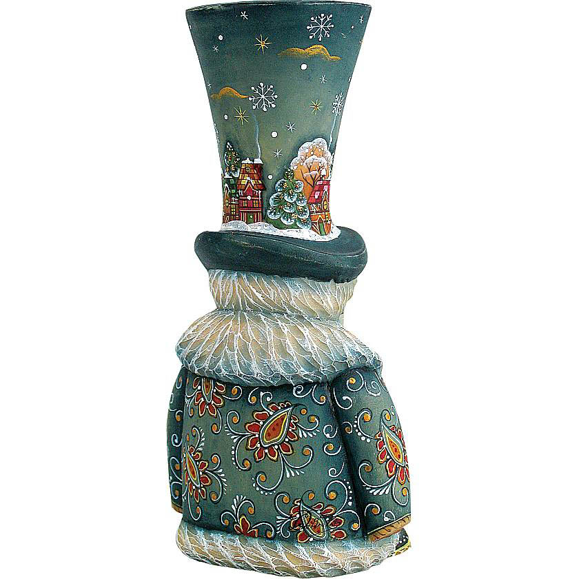 {}  Статуэтка Снеговик (14 см) статуэтка арти м 37 см дама 50 029