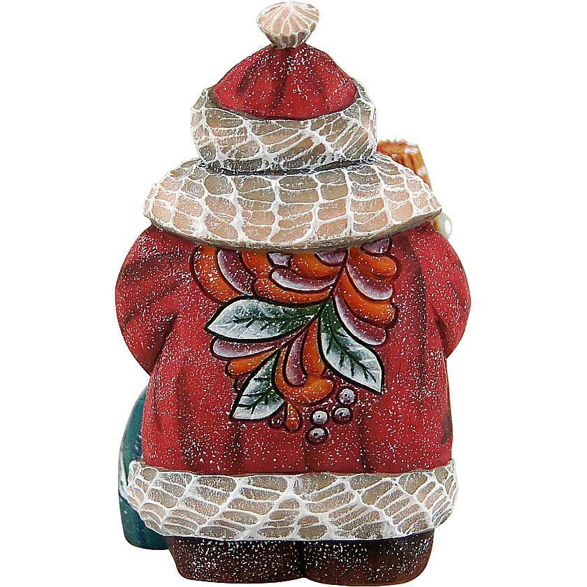 купить {}  Статуэтка Дед Мороз С Елкой (9 см) недорого