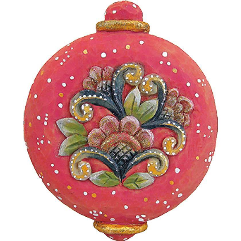 {}  Шар Christmas Time (10 см) украшение для интерьера сверкающий шар